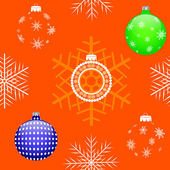Natal sem emenda. vector eps10. — Vetorial Stock