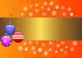 Christmas banner. vector 10eps. — Stock Vector