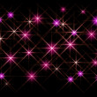 Royalty-Free Stock Vector Image: Glittering stars - vector illustration.10eps.