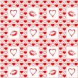 Vector de stock : Valentine seamless pattern.