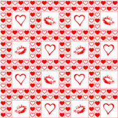 Valentine seamless pattern. — Stock Vector