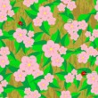 Royalty-Free Stock Vector Image: Seamless patterns with flowers.