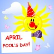 Royalty-Free Stock Vector Image: Day of the fool.