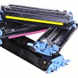 Printer toner cartridges - Stock Photo