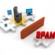 SPAM protection — Stock Photo