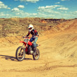 Stock Photo: Motocross