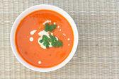 Tomatoe soup — Stock Photo