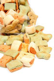 Pile of dog cookies — Stock Photo