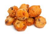 Niederländische donut auch bekannt als oliebollen — Stockfoto