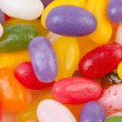 Background of colorful jelly beans candy — Stock Photo