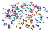 Colorful confetti — Photo