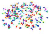 Färgglada konfetti — Stockfoto