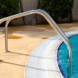 Staircase by the pool — Stock Photo