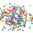 colorful confetti — Stock Photo #4812616