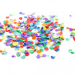 Colorful confetti - Stock Photo