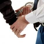 Постер, плакат: Police agent is making a arrest