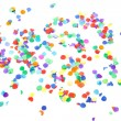 Colorful confetti - Foto Stock