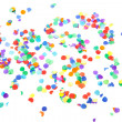 图库照片: Colorful confetti