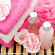 Pink spa accessory in closeup — Stock Photo #5233702