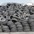 Used tires — Stock Photo