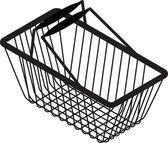 Shopping bag silhouette vector — Stock Vector
