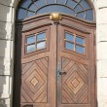 Alte Tür old door — Stock Photo #4740091