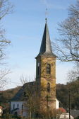 Kirche Berschweiler,Deutschland Church Berschweiler, Germany — Stock Photo