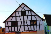 Fachwerkhaus Half-timbered house — Stock Photo