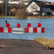 Stock Photo: Flood in Germany