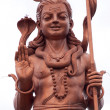 Statue of Hindu God Shiva — Stock Photo