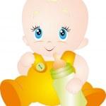 Baby vector — Stock Vector #4023379