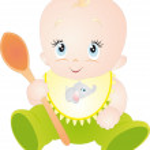 Baby vector — Stock Vector #4023383