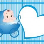 Baby vector — Stock Vector #4023401