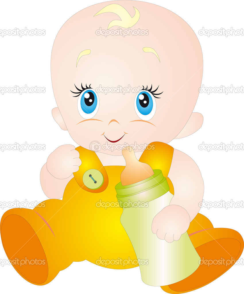 Baby vector. To see similar, please VISIT MY PORTFOLIO  Stock Vector #4023379