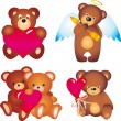 Royalty-Free Stock Vector Image: Bears. Vector collection