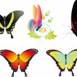 Butterfly. Vector collection — Stock Vector