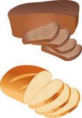 Bread vector — Stock Vector