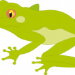 Royalty-Free Stock Vector Image: Frog vector
