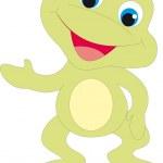 Frog vector — Stock Vector #5273750