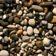 Closeup of many little stones — Stock Photo