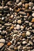 Closeup de muchas piedras pequeñas — Foto de Stock