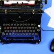 Old retro typewriter — Stock Photo