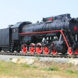 The old steam locomotive. — Stock Photo
