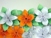 Origami flowers — Foto Stock