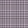Stock Vector: Houndstooth vector pattern