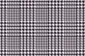 Houndstooth vector pattern — Stock Vector