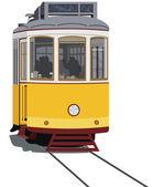 Lisbon tramway — Stock Vector