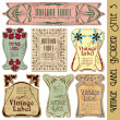 Vintage style label — Stock Vector #3999587