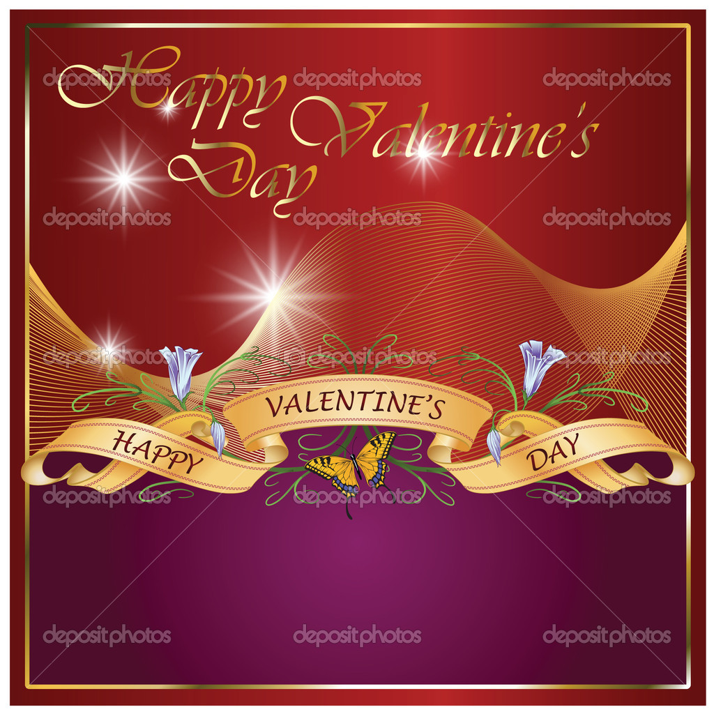 Greeting card for Valentine's Day and other holidays  Stock Vector #4626500