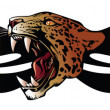 Panther head for tribal - Imagen vectorial